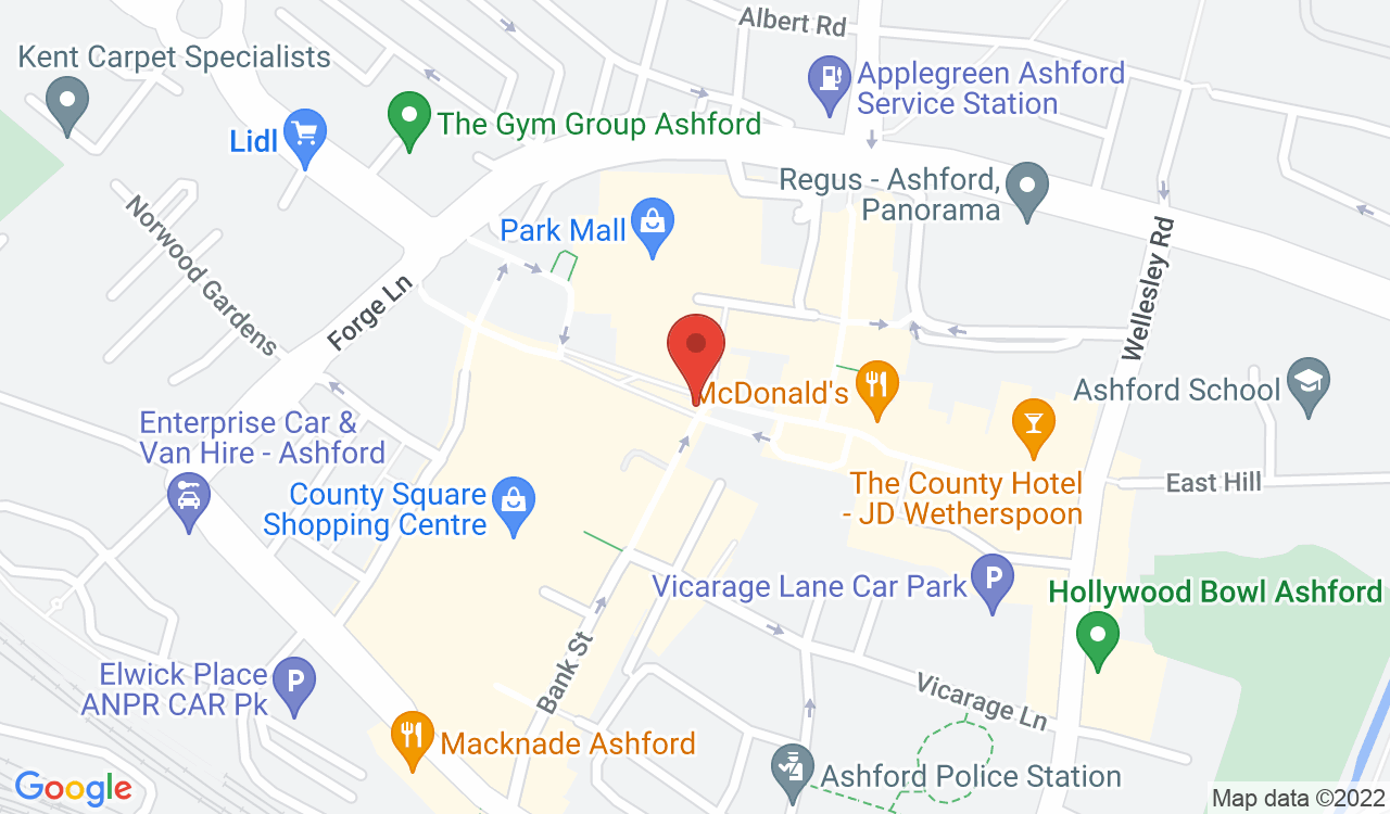 Google Map of Pickwick Pawnbrokers, Ashford, UK
