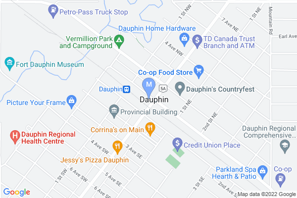 Map of CN Park