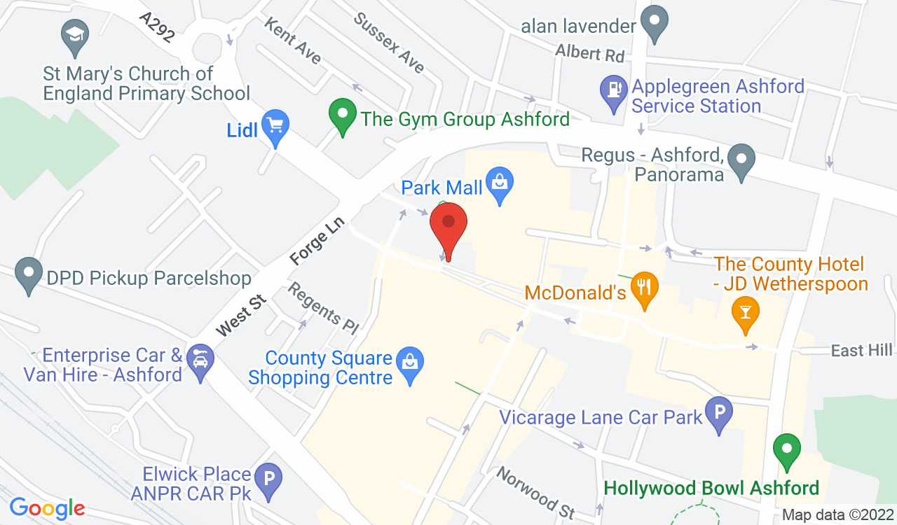 Google Map of Stag Coffee, Ashford, UK