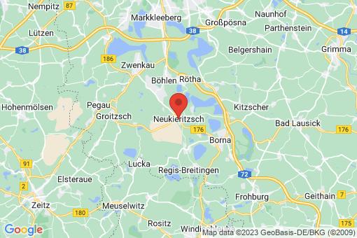 Karte Neukieritzsch