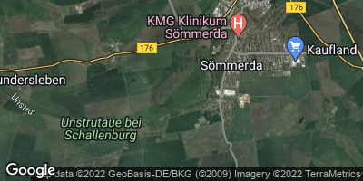 Google Map of Sömmerda