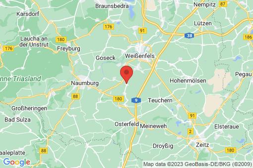 Karte Prittitz