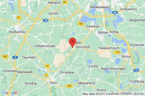 Karte Elstertrebnitz