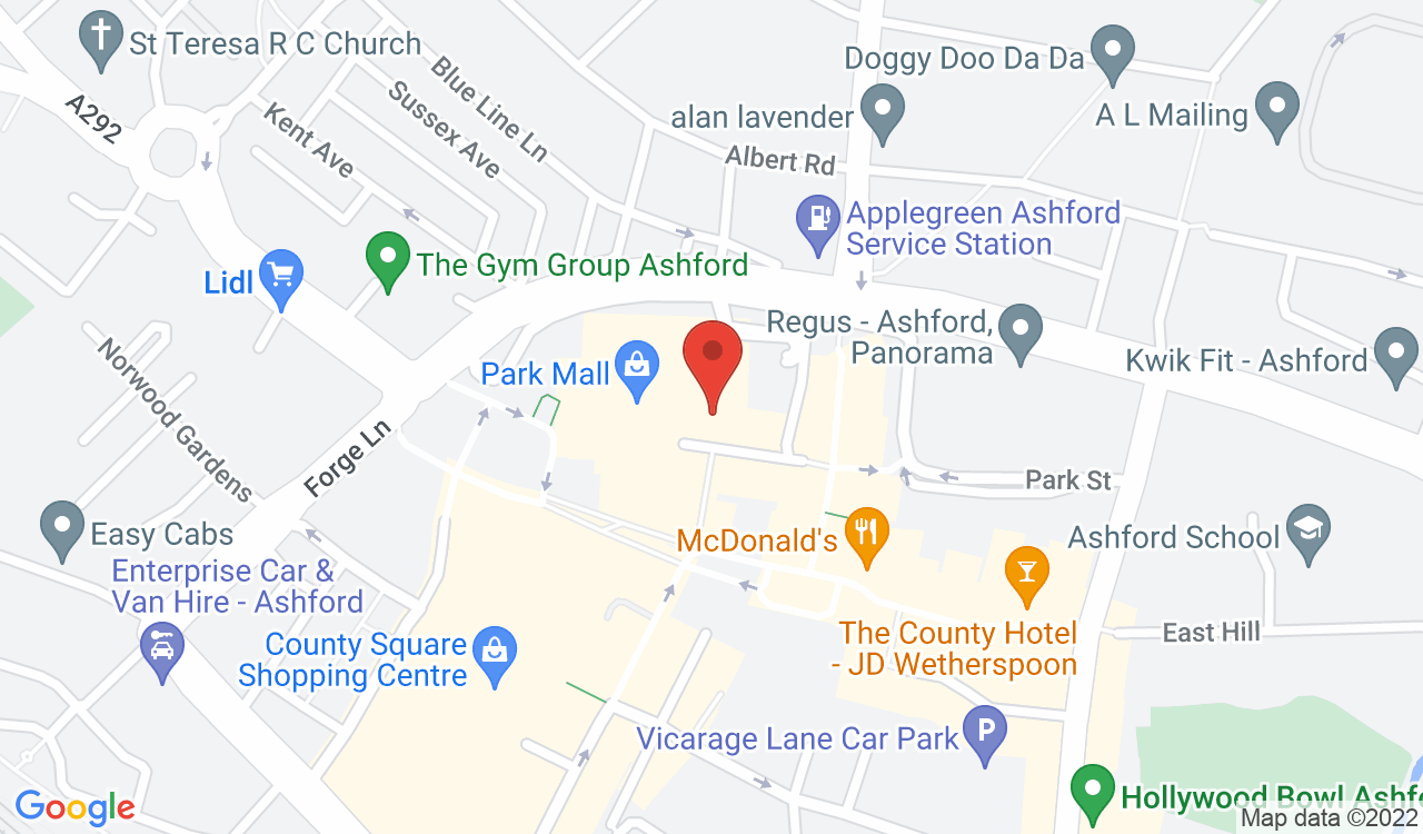 Google Map of Wilko, Ashford, UK