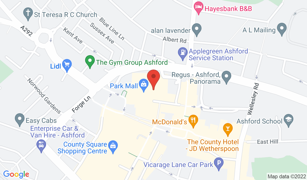Google Map of Games Workshop, Ashford, UK