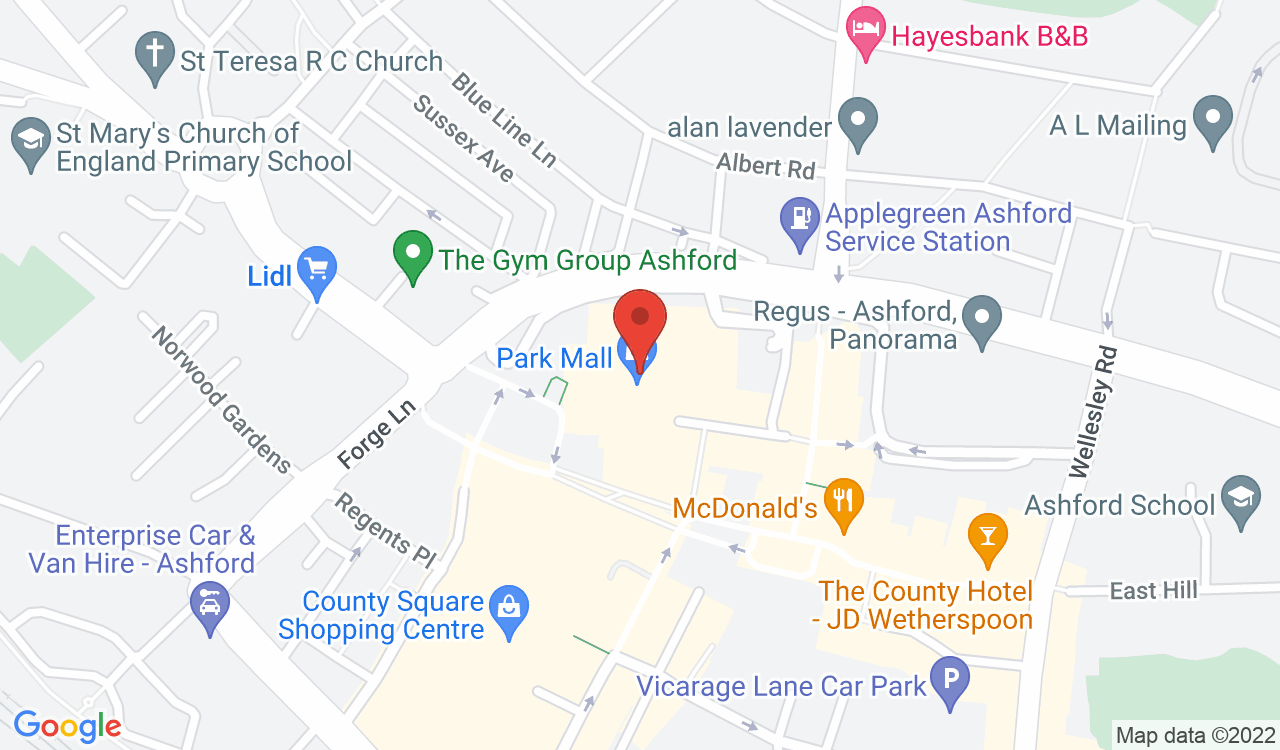 Google Map of Savers, Ashford, UK