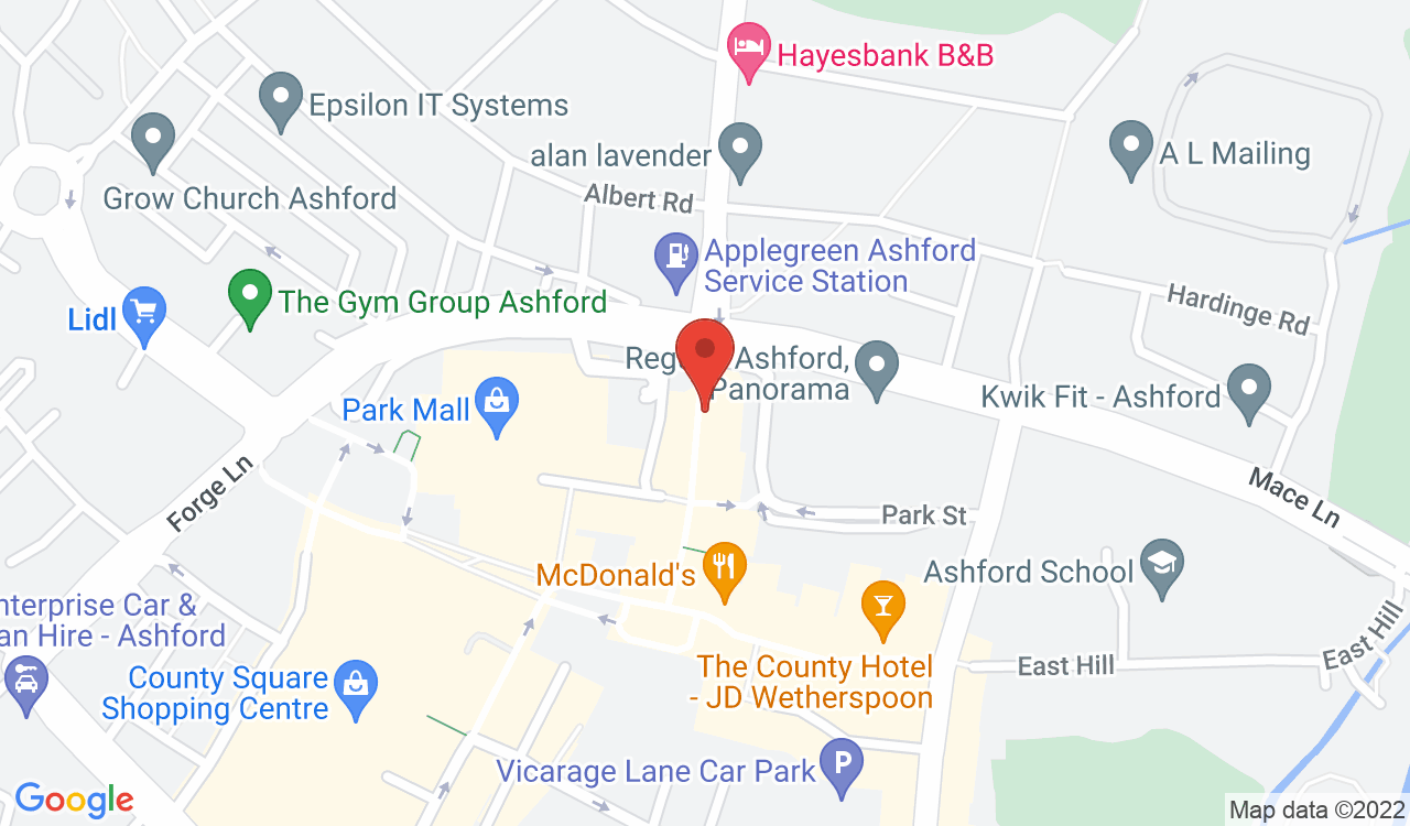 Google Map of Taylor Riley Stafford, Ashford, UK