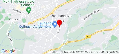 Google Map für Stiller-Vermietungen