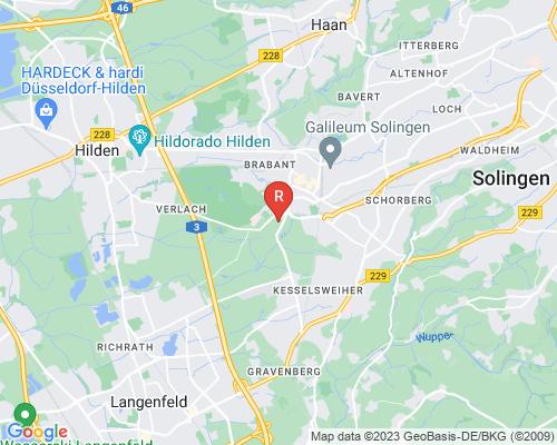 Google Karte von Rohrreinigung Langenfeld