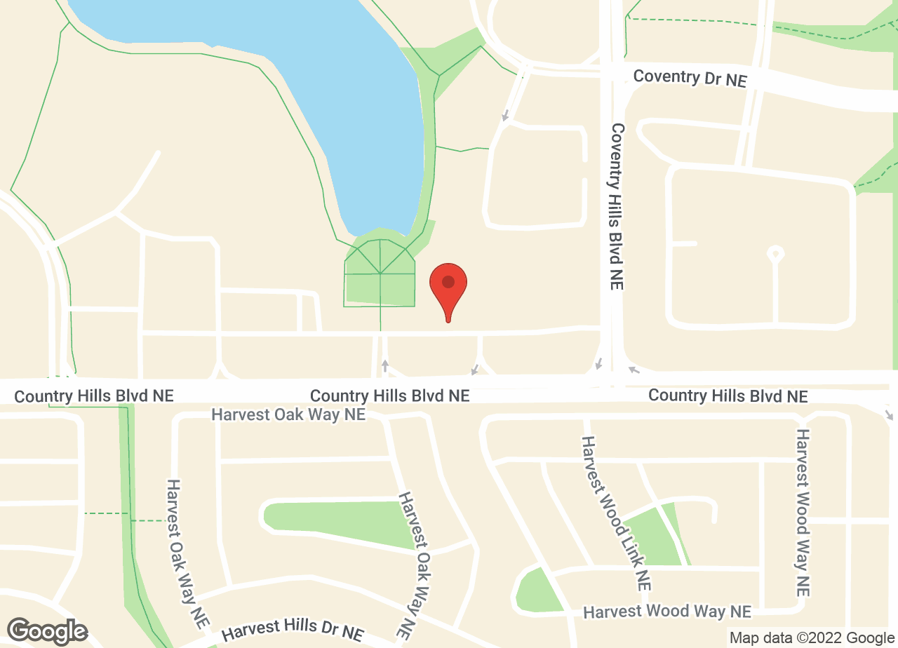 Google Map of Harvest Hills Animal Hospital