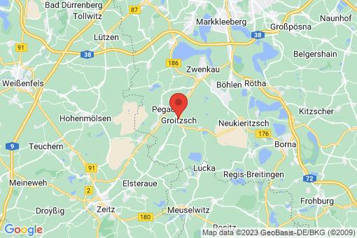 Karte Groitzsch