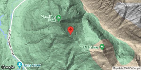 Vermillion Peak NE aspect profile