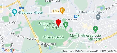 Google Map für Krugs Privatzimmer 42697 Solingen