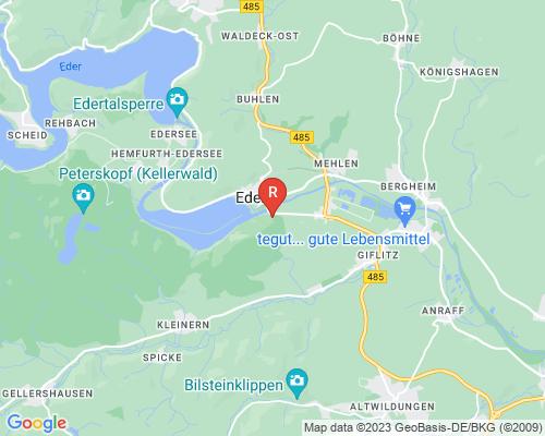 Google Karte von Rohrreinigung Edertal