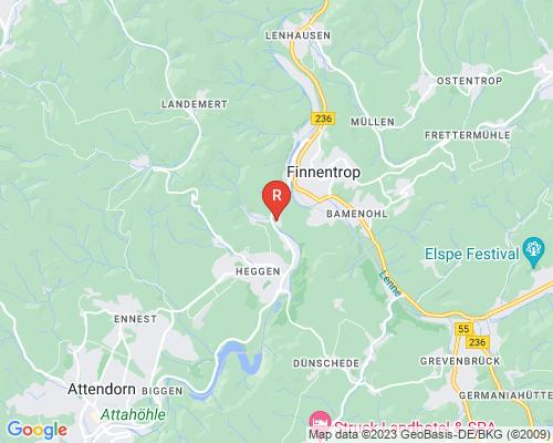 Google Karte von Rohrreinigung Finnentrop