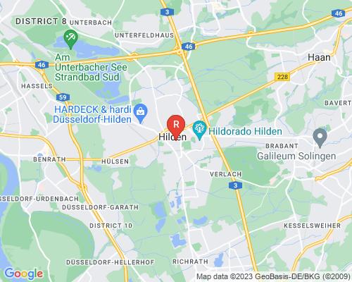 Google Karte von Rohrreinigung Hilden