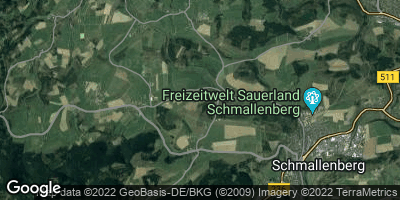 Google Map of Wormbach