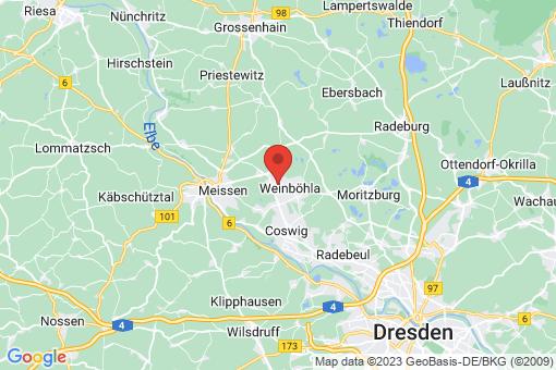 Karte Weinböhla