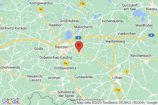 Karte Kubschütz