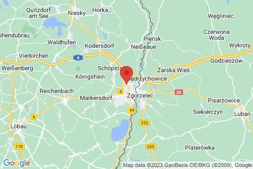 Karte Görlitz