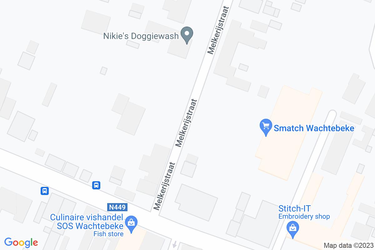 situation du Smatch Wachtebeke