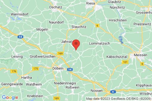 Karte Zschaitz-Ottewig