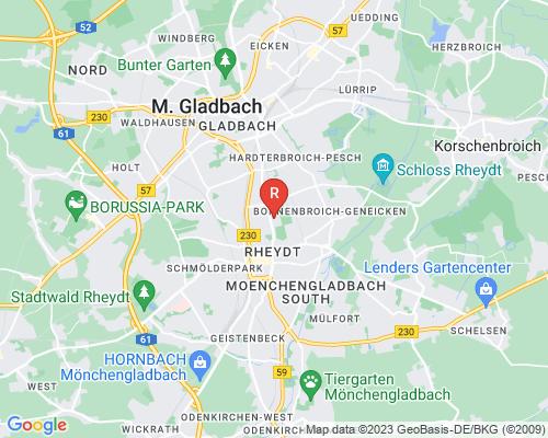 Google Karte von Rohrreinigung Mönchengladbach