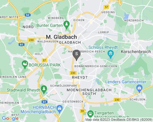 Google Karte von Schlüsseldienst Mönchegladbach