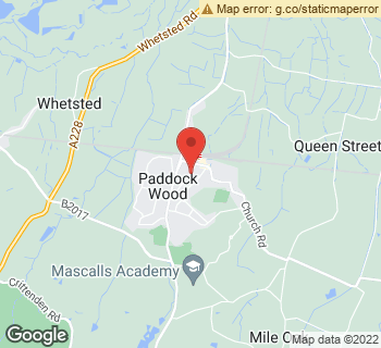Map of Katie Jane at 49 Commercial Road, Paddock Wood, Kent TN12 6EN