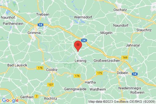 Karte Thümmlitzwalde