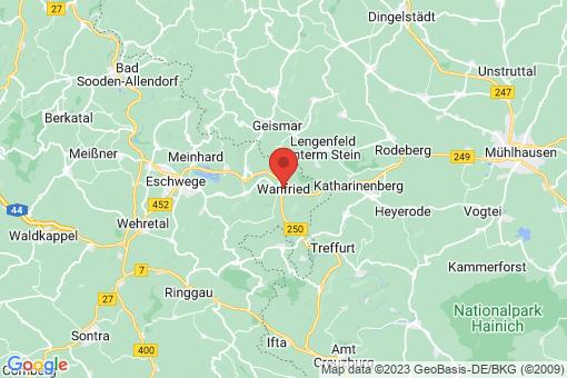 Karte Wanfried