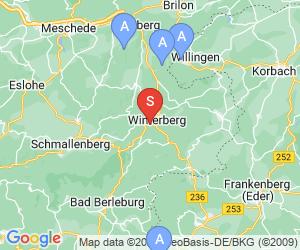 Karte für Sommerrodelbahn Winterberg