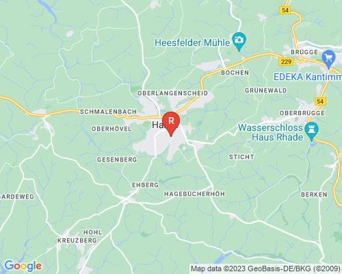 Google Karte von Rohrreinigung Halver