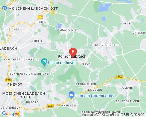 Google Karte von Rohrreinigung Korschenbroich