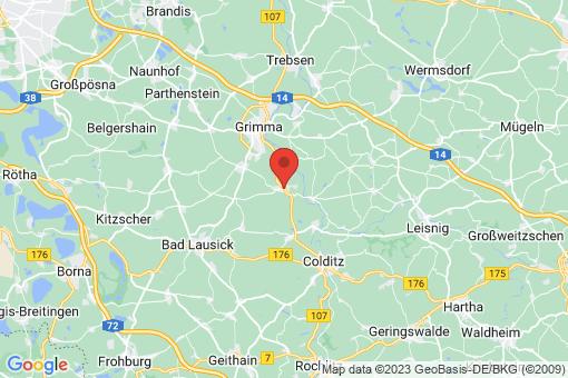 Karte Großbothen