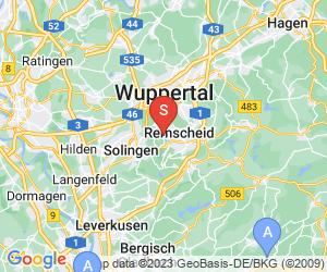 Karte für Flugfeld Remscheid