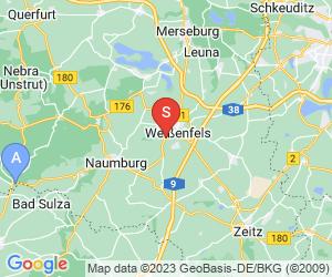 Karte für Allwetterrodelbahn Weissenfels