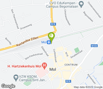 Carte de Hangarstraat 1 à
