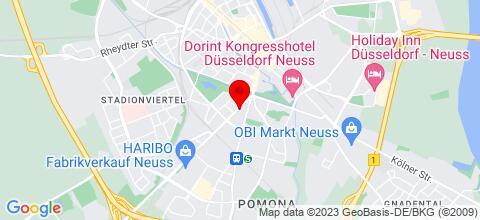 Google Map für Haus Neuss
