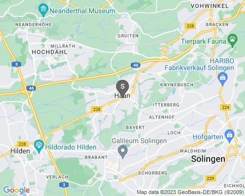 Google Karte von Schlüsseldienst Haan
