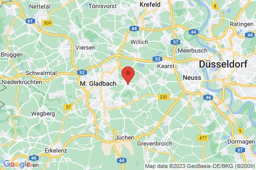 Karte Korschenbroich