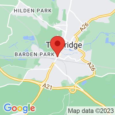 Map showing FCB Coffee (Tonbridge Station)