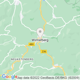 Lage von SkiBo – Flutlichtskifahren Skiliftkarussell – Winterberg
