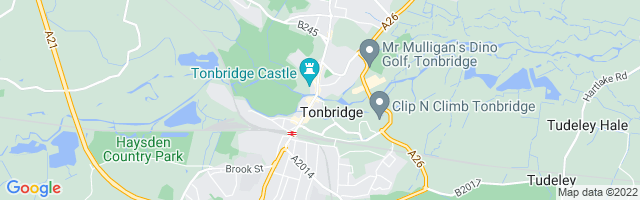 Map Of Tonbridge