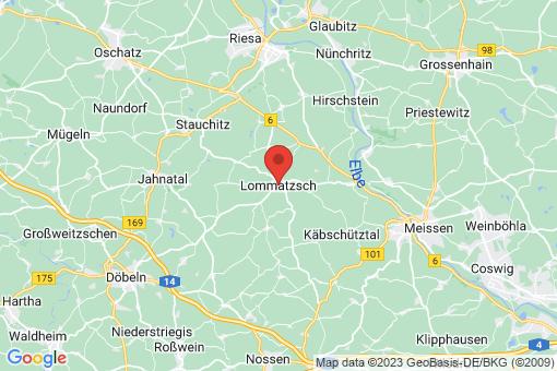 Karte Lommatzsch