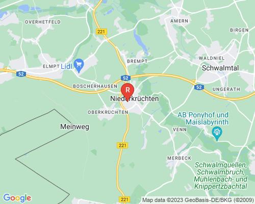 Google Karte von Rohrreinigung Niederkrüchten