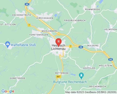 Google Karte von Rohrreinigung Hessisch Lichtenau