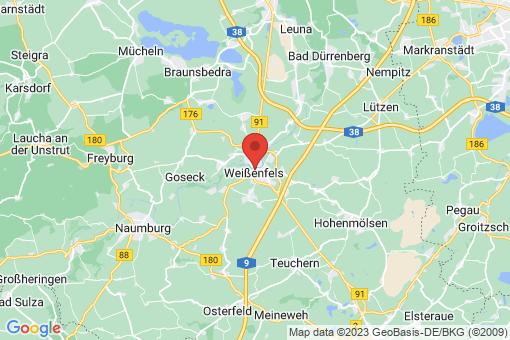 Karte Weißenfels