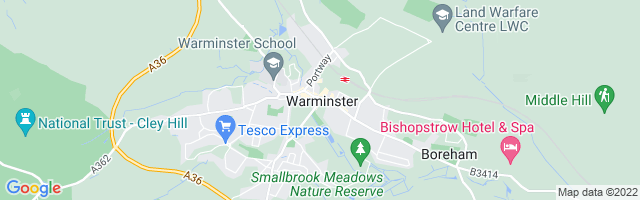Map Of Warminster