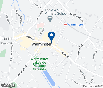 Map of 51 Market Place in Warminster